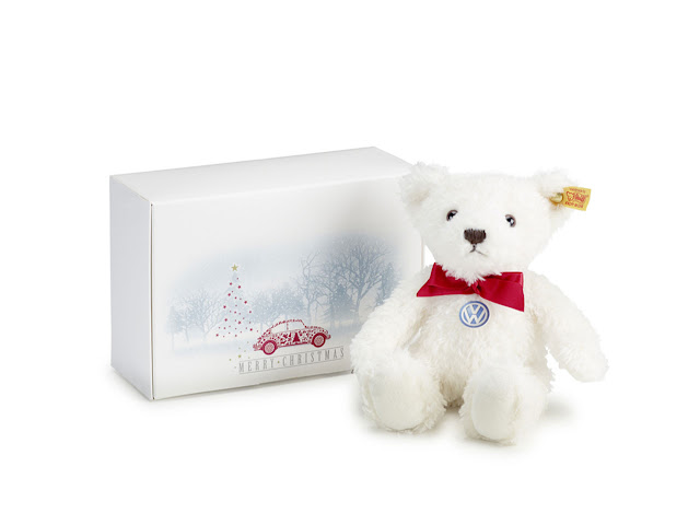 Volkswagen Steiff Winter Teddy Bear