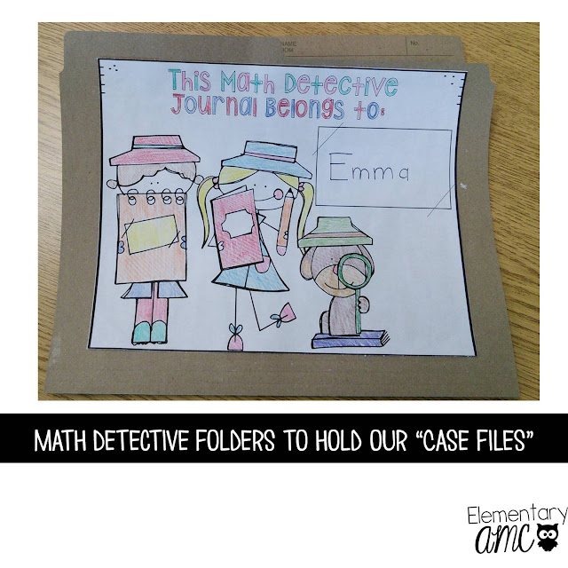 math detective journal