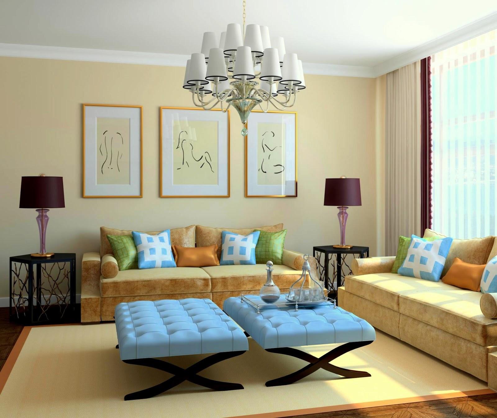 Koleksi Idea Dekorasi Ruang Tamu Rumah Teres Setingkat Hiasmy