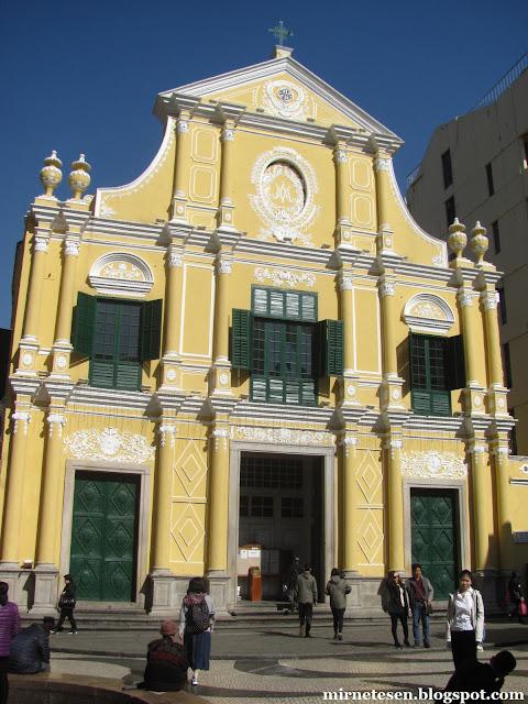 Макао - Церковь Святого Доминика