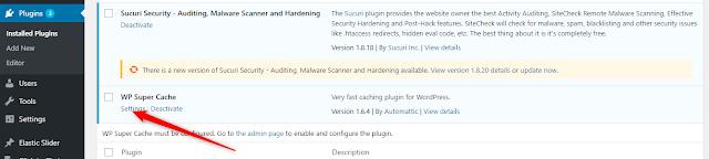 Cara Optimasi Loading Website WordPress Dengan WP Super Cache