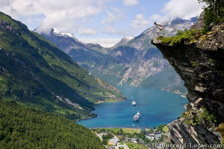 3. Geirangerfjorden, Norway - Top 10 Beautiful Fjords Around the Earth