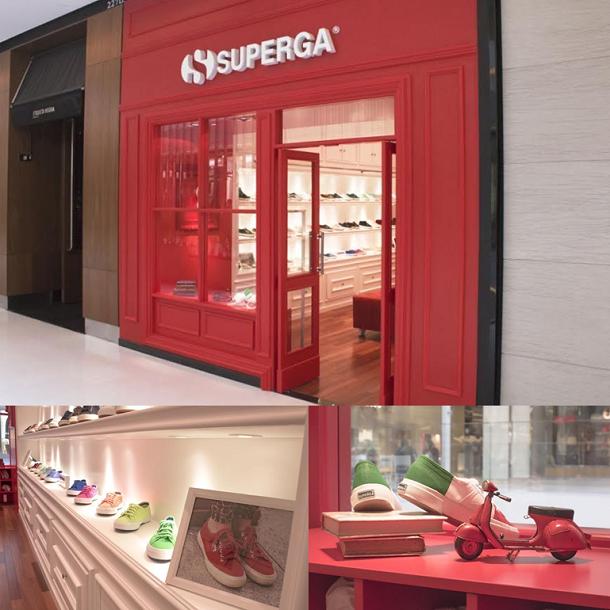 ea21e838a7 SUPERGA abre primeira flagship na América Latina