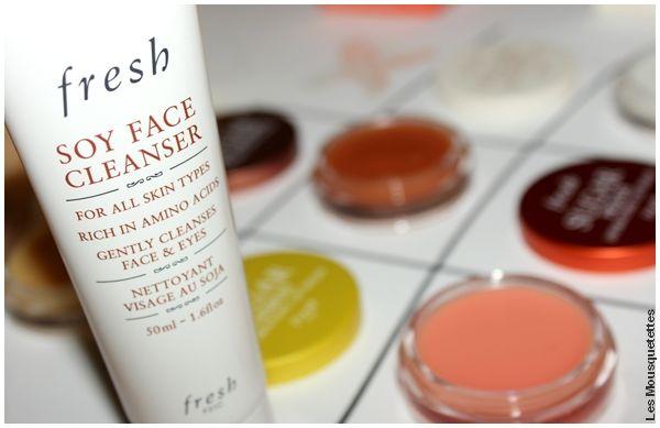 Avis Soy Face Cleanser, Fresh nettoyant visage, Sephora- Blog beauté