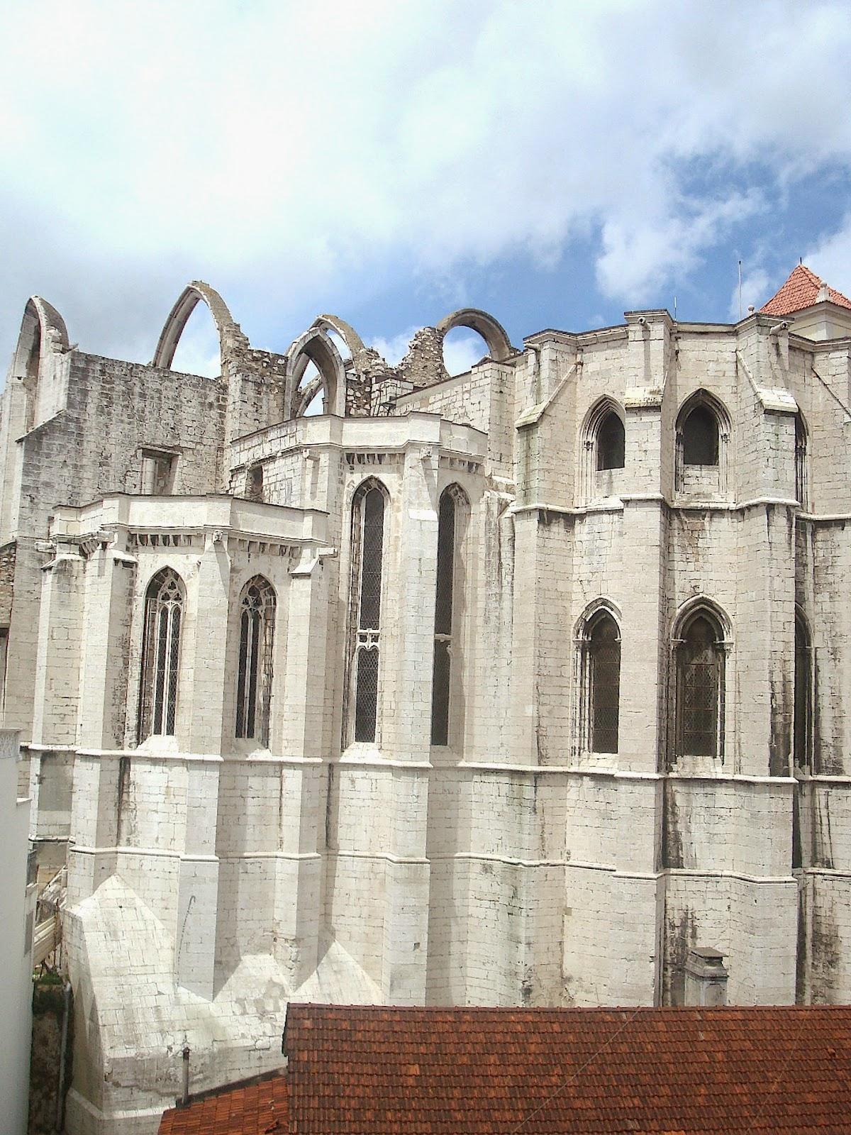 Carmo Convent, Lisbon, Portugal