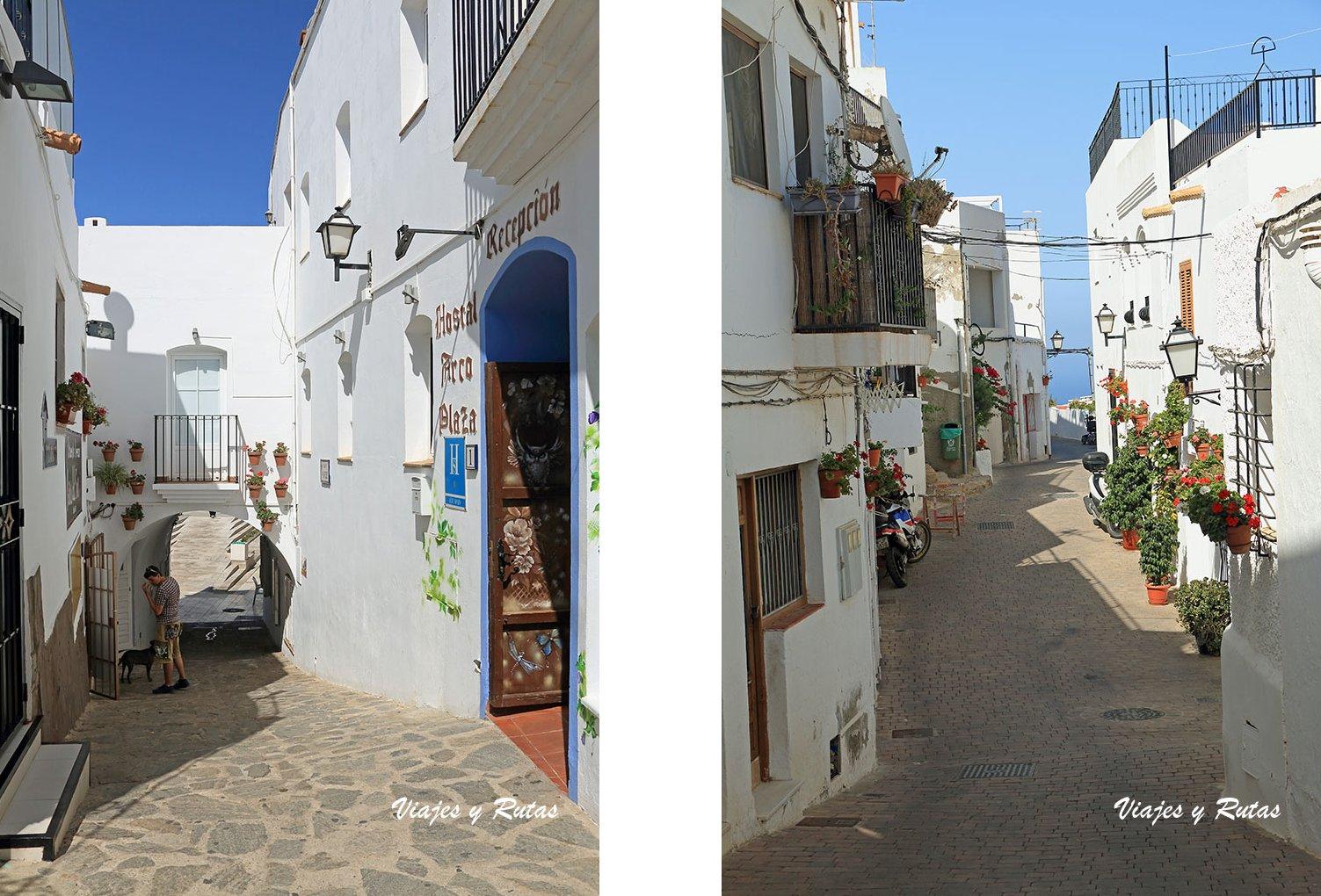Calles de Mojácar