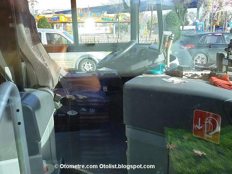 mercedes'in test aracı istanbul'da