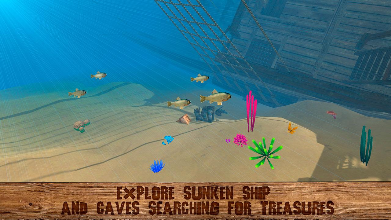 Pirate Island Survival 3D MOD APK terbaru