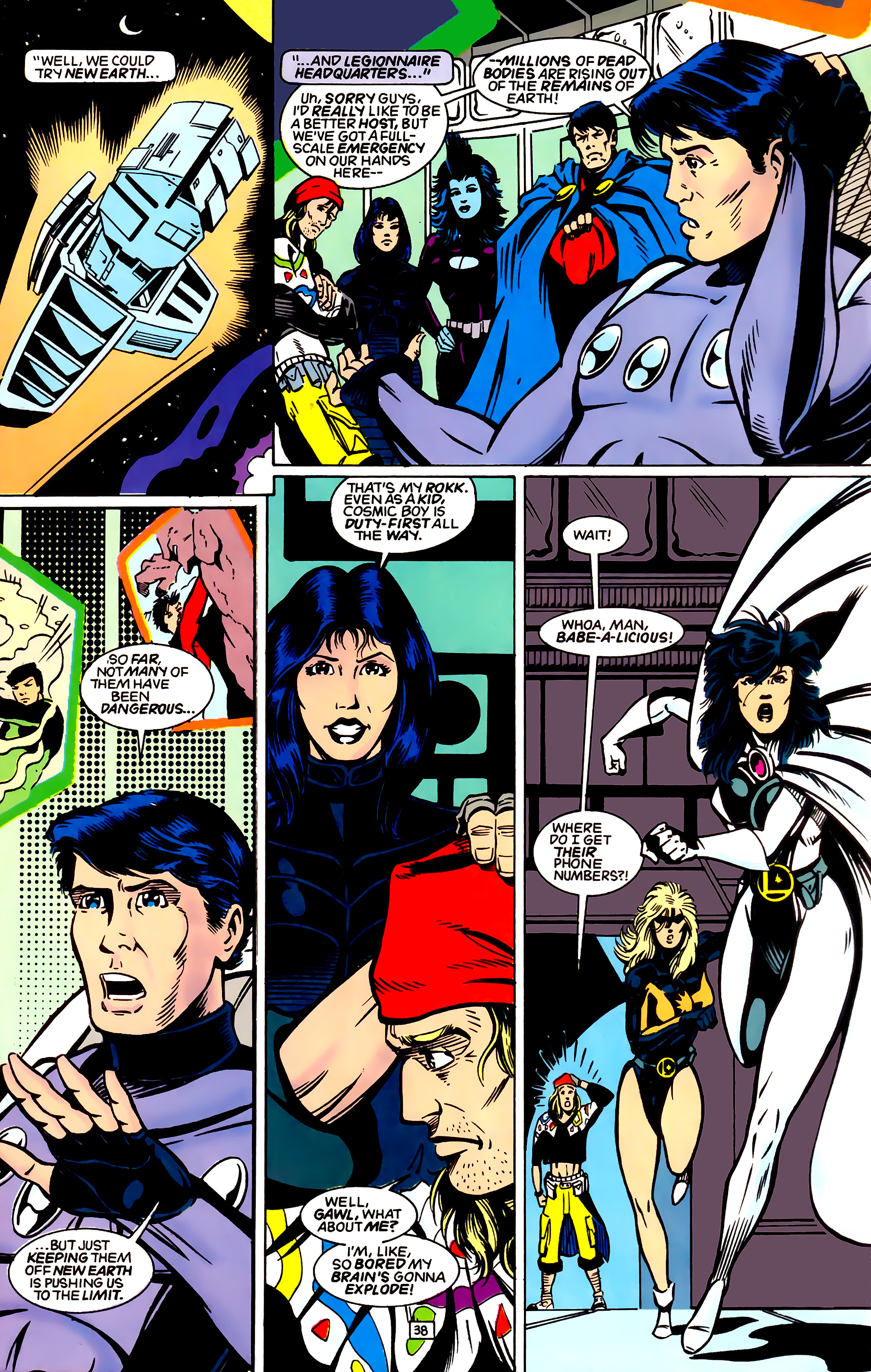 Legion of Super-Heroes (1989) _Annual_4 Page 38