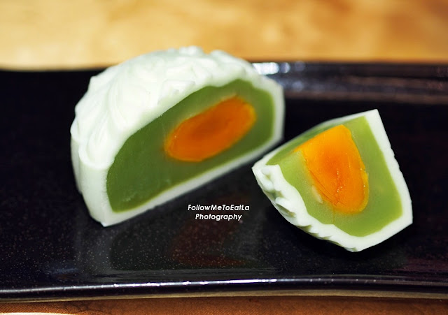 Snow Skin Pandan Single Yolk 冰皮翡翠單黃