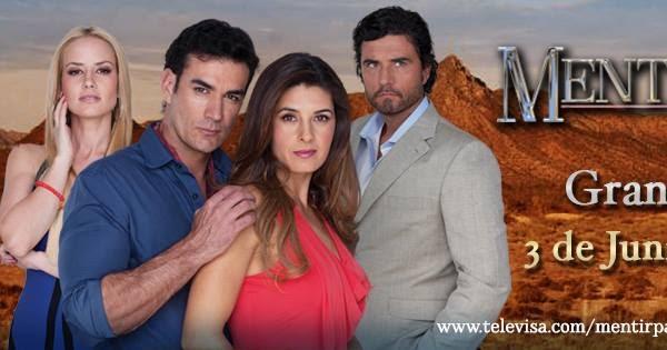 Sinopsis oficial telenovela Mentir para vivir - Más ...