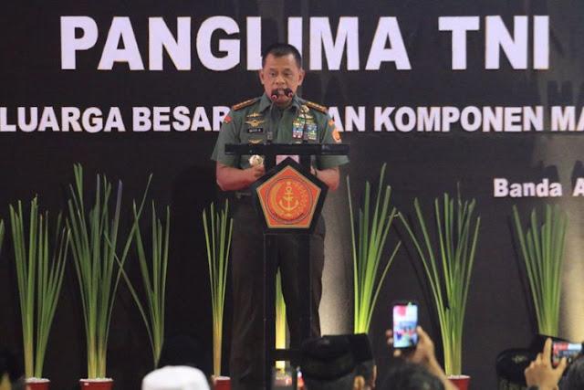 Panglima TNI: Kalau Ada Ulama Ingin Ubah Pancasila, Pasti Ulama itu Dibayar