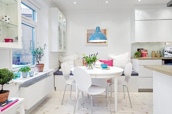 cozinha branca escandinava
