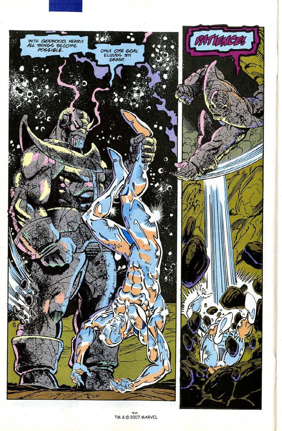 Read online Silver Surfer (1987) comic -  Issue #50 - 32