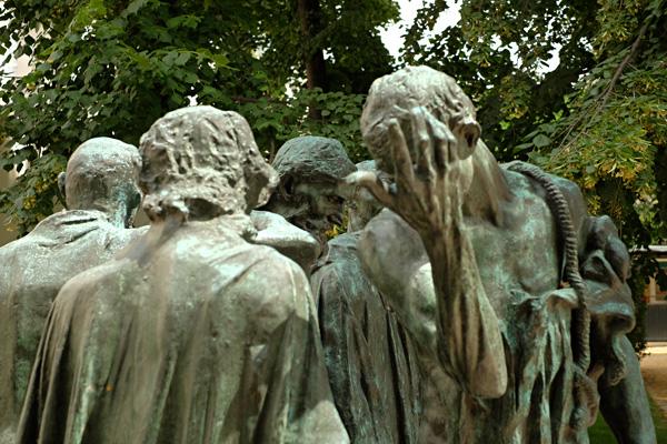 Sculptures, Musée Rodin, Paris. Photos by Kent Johnson for Street Fashion Sydney.