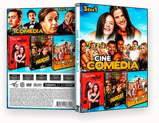 CAPA DVD – Cine Comedia 3 Em 1 Vol.1 – ISO