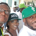 2face, Annie Idibia, Banky W And Others On Street Walk to mobilize for voters Registration. See Photos