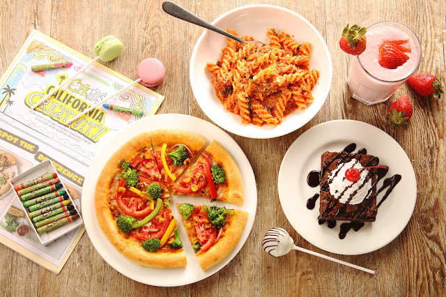 Make your own Pizza session at California Pizza Kitchen