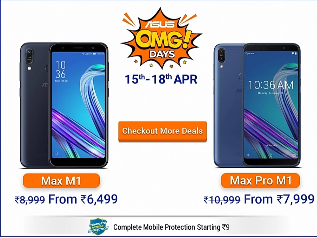 ASUS OMG DAYS Sale from April 15 to 18: Discounts on Zenfone
