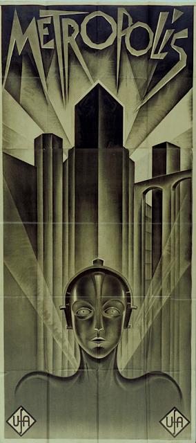 Poster for Metropolis 1926