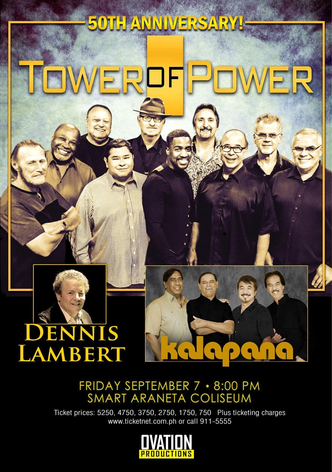 Tower Of Power Is Live In Manila On Sept 7 At The Smart Araneta Coliseum Jakarta Et Ticket Aquarium Reguler Weekday Many Other Bands Came Out San Francisco Bay Area Late 60s Like Grateful Dead Jefferson Airplane Santana Journey And Others All
