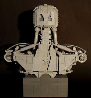 Termiator hecho con piezas de lego