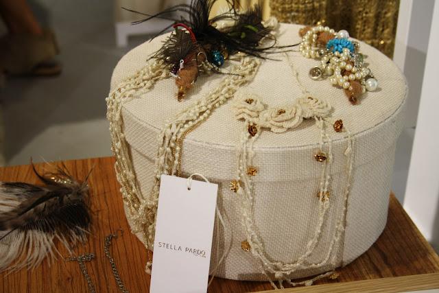 Bijoux tricoté Stella Pardo