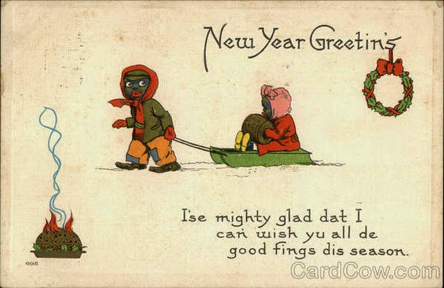 30 Strange and Creepy Vintage New Year s Postcards From Between the     Wishing you a very happy New Year  Here s a collection of 30 strange and  creepy New Year s postcards from between the 1900s and 1910s