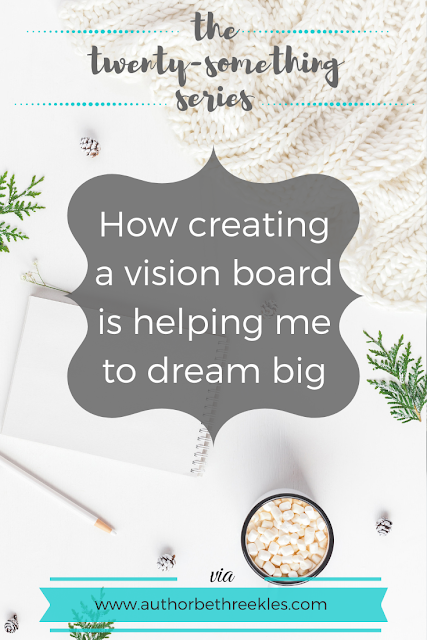At the start of the year, I created a vision board - and it's totally transformed my way of looking at my goals. Here's why I think vision boards work so well in helping you dream big!