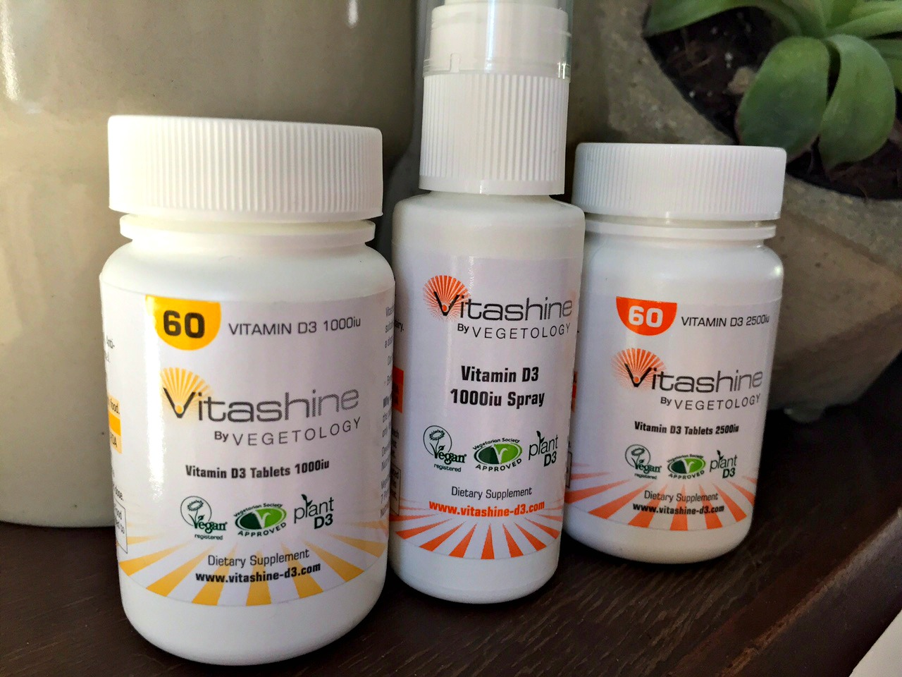 Vitashine Vitamin D3 by Vegetology