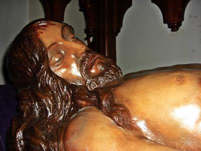 Cristo Yacente. Real cofradía de Minerva y Vera Cruz. Leon. Foto. César Benitez Bardal.