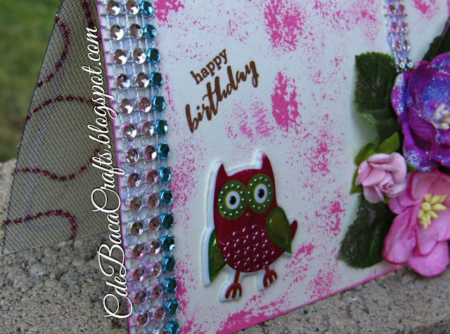 Handmade card perfect for happy birthday by CdeBaca Crafts