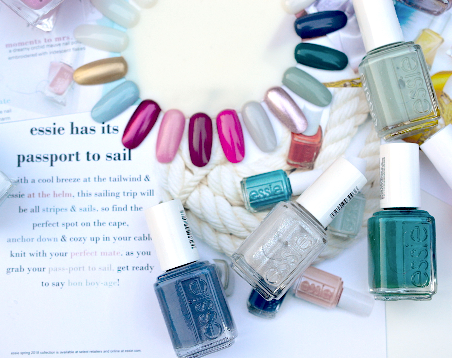 essie nail polish swatches