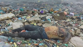 Man's Body Found Floating In The Lagoon In Apapa ( Photo)