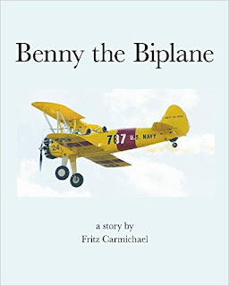 Benny the Biplane - a little biplane finds the perfect job, by Fritz Carmichael