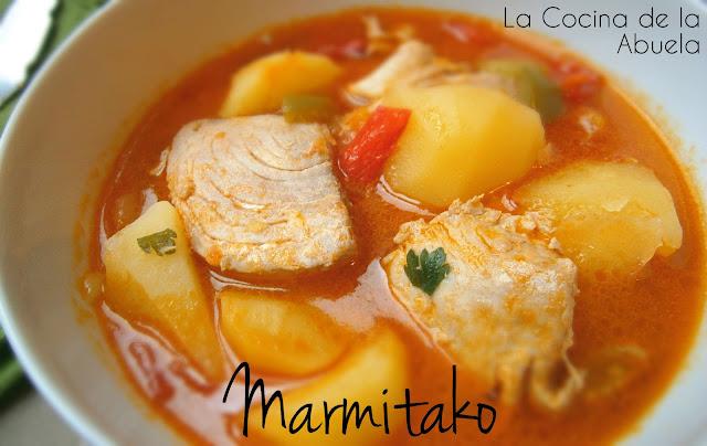 Marmitako de Bonito Fácil.