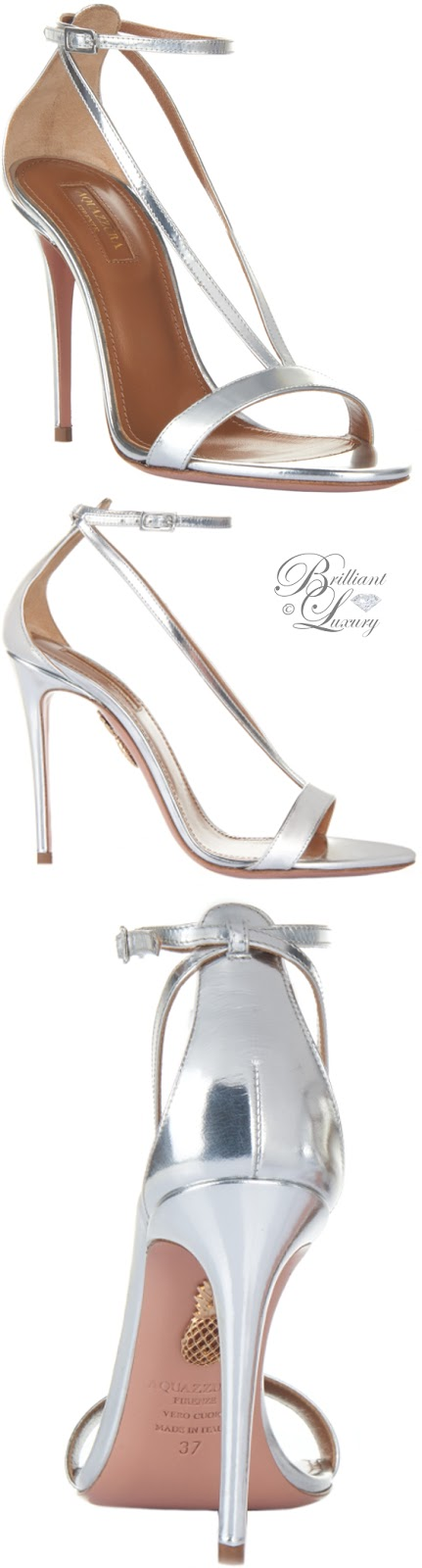 Brilliant Luxury ♦ Aquazzura Casanova Sandals