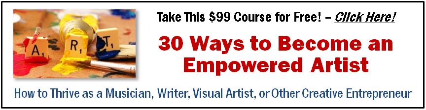 Empowered Artist online course