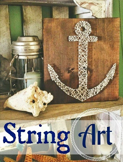 String Art Anchor