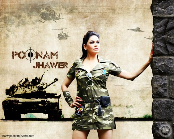 Poonam Jhawer Army Officer Hot photoshoot