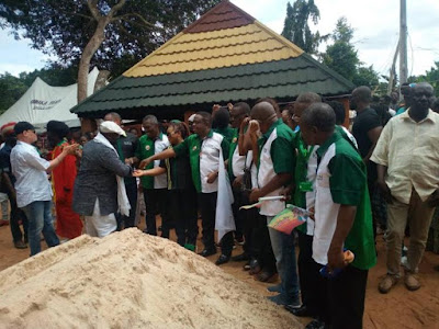 Tears Flow At Burial Of Ras Kimono