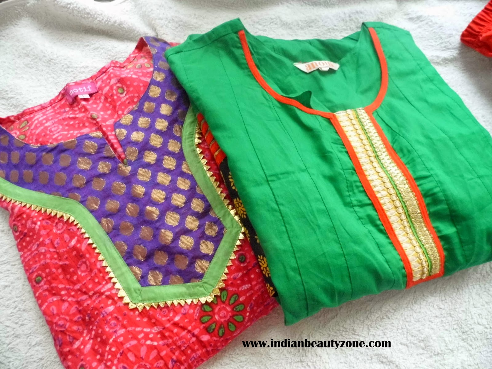 edf9345590 Indian Beauty Zone: My Anarkali Kurta and Leggings Clothing Haul ...