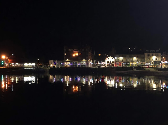 What to do in Oban at night