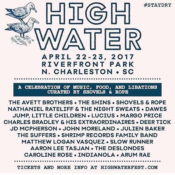 high water festival charleston