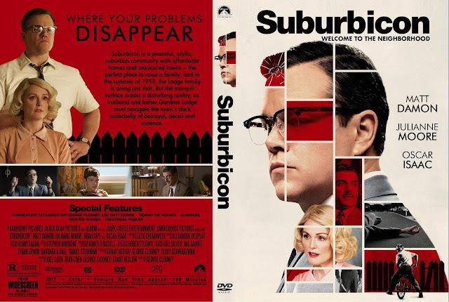 Suburbicon DVD Cover