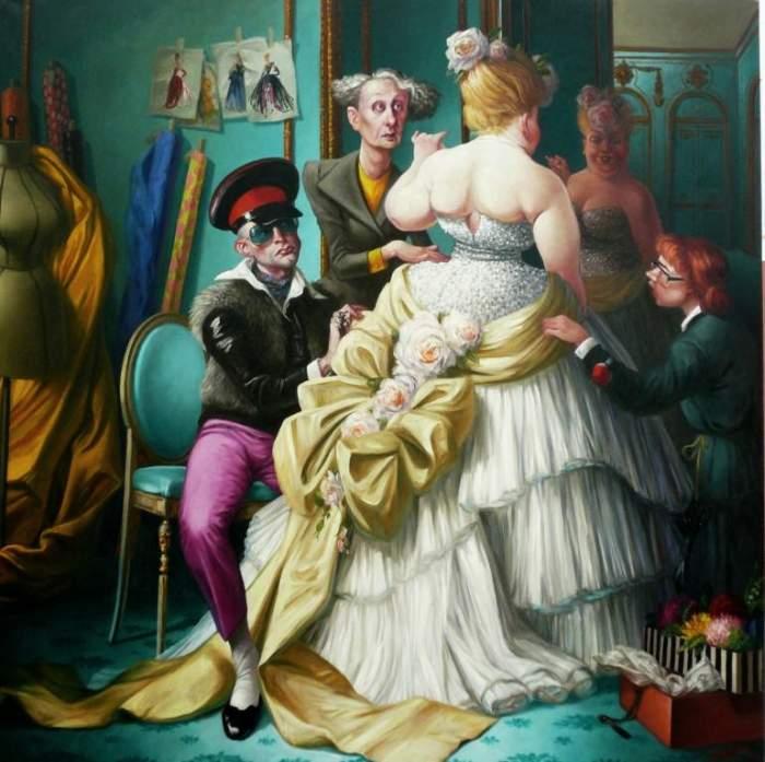 Гротеск и изысканность. Thierry Bruet