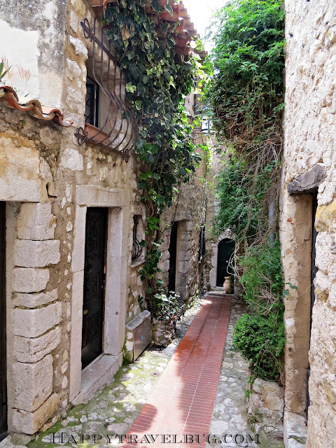 "The ""streets"" of Eze, France"