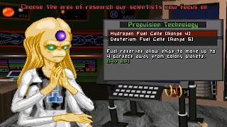 Investigación tecnología Master of Orion