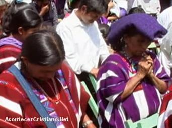 Evangélicos de Las Margaritas en Chiapas