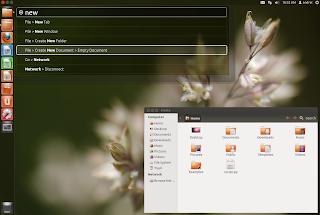 unity 2d HUD - ubuntu 12.04
